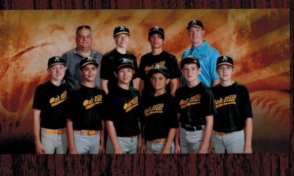 My 2015 Oak Hill Baseball team
