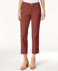 Image of Style & Co Curvy Cuffed Capri Jeans, Created for Macy's