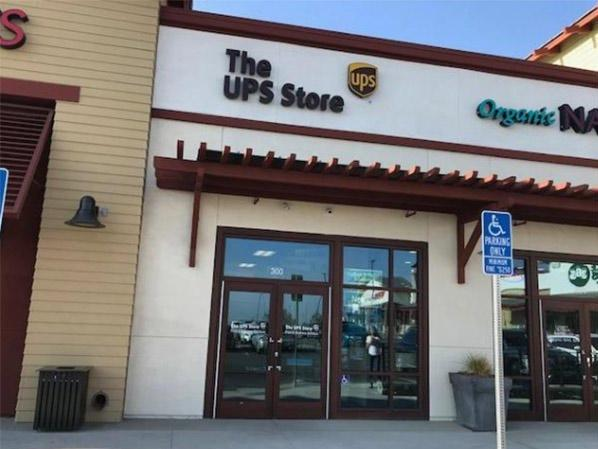 Storefront shot of The UPS Store Claremont and Upland, CA