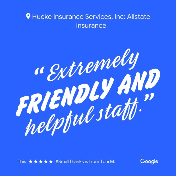 Hucke Insurance Services, Inc - Small Thanks with Google