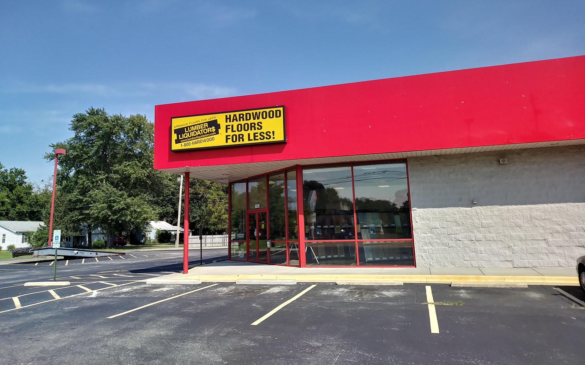 LL Flooring #1240 Fairview Heights | 5520 North Illinois St. | Storefront
