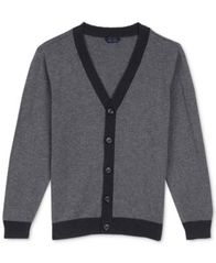 Image of Tommy Hilfiger Elbow Patch Cardigan, Big Boys