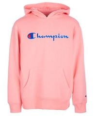 Image of Champion Big Girls Heritage Logo Hoodie