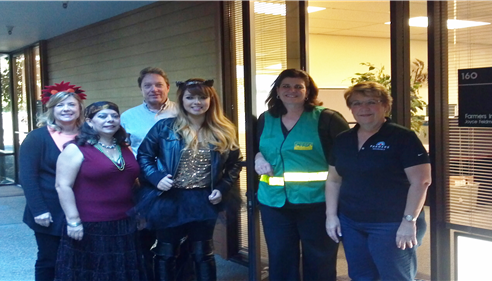 Halloween 2014 - We try to have fun at our office.
