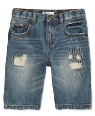 Image of Epic Threads Little Boys Hamilton Denim Shorts, Created for Macy's