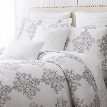 Bed Covers - Top of bedding comforters, quilts, coverlets and duvet covers