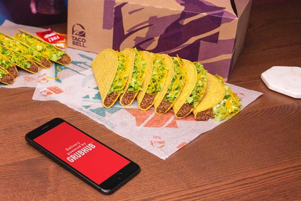 Taco Bell Delivery with Grubhub