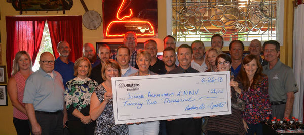 Bruce Bergantz - Allstate Foundation Helping Hands Grant Helps Junior Achievement of Northern Nevada