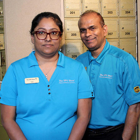 Female and Male Associates Store Owners