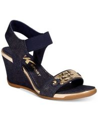 Image of Anne Klein Sport Latasha Wedge Sandals