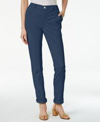 Image of Style & Co. Chino Boyfriend Pants, Created for Macy's