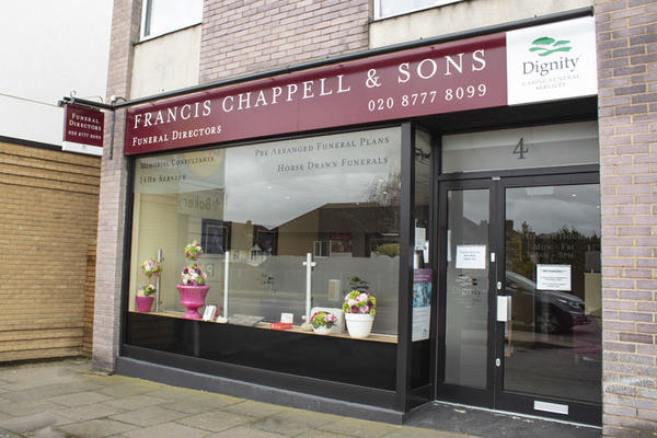 Francis Chappell & Sons Funeral Directors in West Wickham