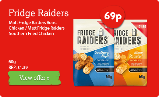 Fridge Raiders offer available until 11th February