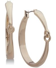 Image of Lauren Ralph Lauren Interlocking Hoop Earrings