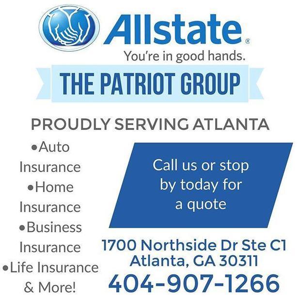 Allstate | Car Insurance in Atlanta, GA - The Patriot Group