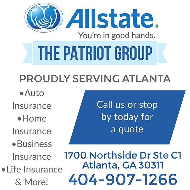 Allstate Insurance Quote: Car Insurance In Atlanta, GA - The Patriot Group