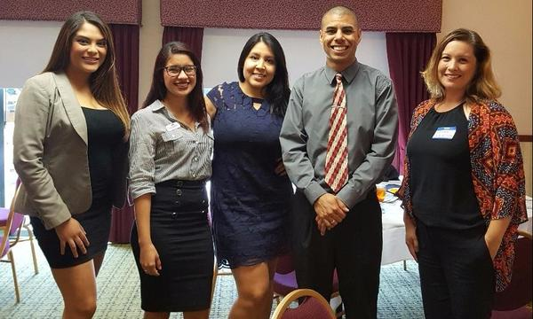 Whittier Chamber of Commerce Young Professionals luncheon.