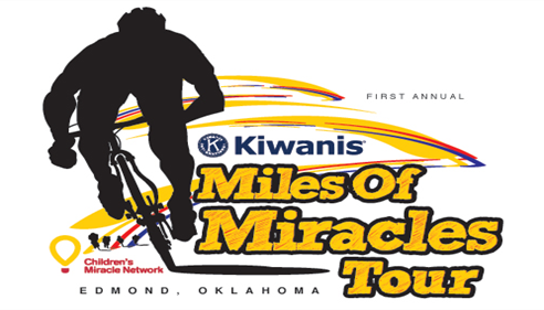 Edmond Kiwanis inaugural cycling tour for CMN