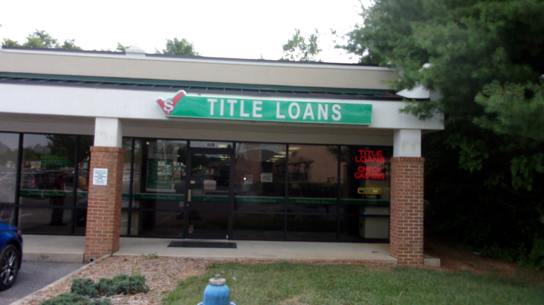 The Bank of Waynesboro Payday loans