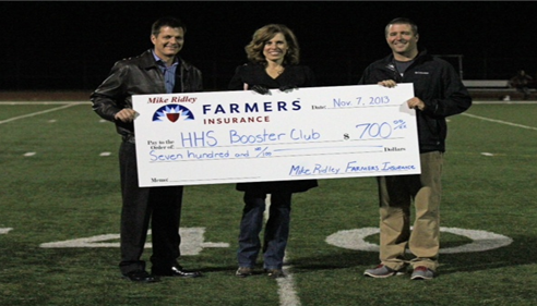 Heritage High School Athletic Booster Club Donation