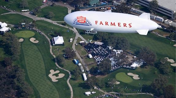 The Farmers blimp