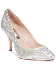 Image of INC International Concepts Zitah Pointed Toe Rhinestone Evening Pumps, Created for Macy's