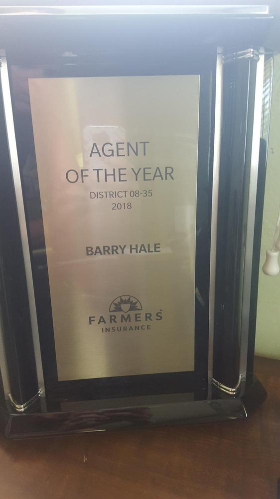 2018 District 35 Agent of the Year