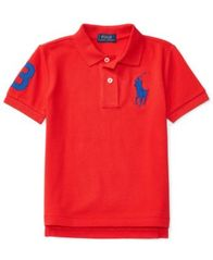 Image of Ralph Lauren Big Pony Polo, Toddler Boys (2T-4T) & Little Boys (2-7)