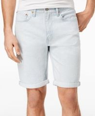 Image of Levi's® Men's 502™ Classic-Fit Tapered Stretch Denim Shorts