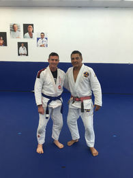 Brazilian Jiu-Jitsu Master. Undefeated in mixed martial arts.