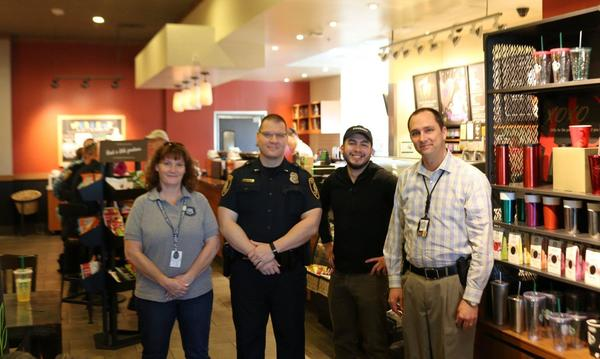 Shawn attending  - Coffee with a Cop