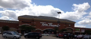 Tom Thumb Store Front Picture at 302 S Park Blvd in Grapevine TX