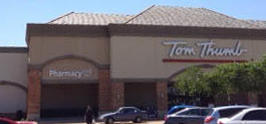 Tom Thumb Storefront Picture at 1501 Pioneer Rd in Mesquite TX
