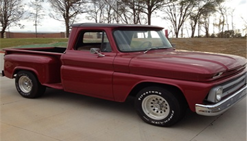 1965 Chevy : I love old cars and trucks and enjoy tinkering with them.