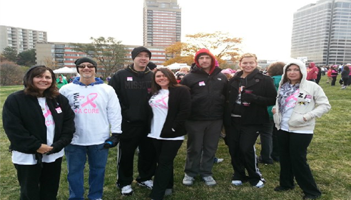 Making Strides Against Breast Cancer Event!
