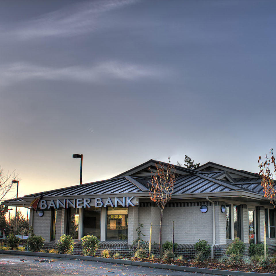Banner Bank branch in Federal Way, Washington