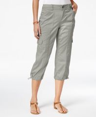 Image of Style & Co Cargo Capri Pants in Regular & Petite Sizes, Created for Macy's