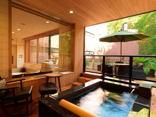 [Onsen open-air bath & sauna] Suite