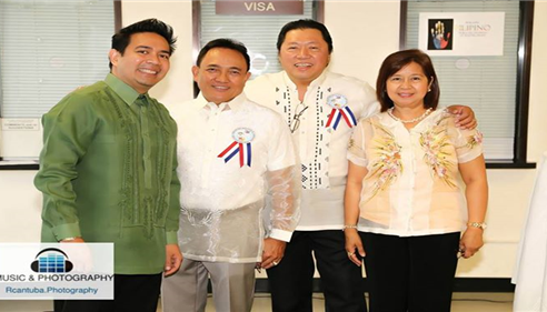 with fellow PILAC performers..at the Philippine Consulate
