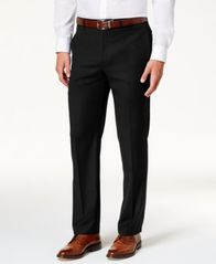 Image of Lauren Ralph Lauren Men's Microtwill Ultraflex Dress Pants