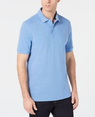 Image of Club Room Men's UPF Stretch Performance Polo, Created for Macy's