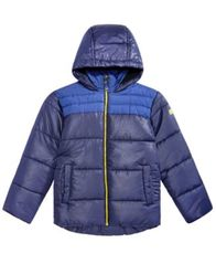 Image of RM 1958 Big Boys Samuel Hooded Colorblocked Jacket