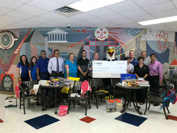 Maria Golseth - Lakewood Elementary Receives Allstate Foundation Helping Hands Grant