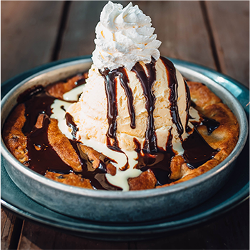 WARM COOKIE SUNDAE