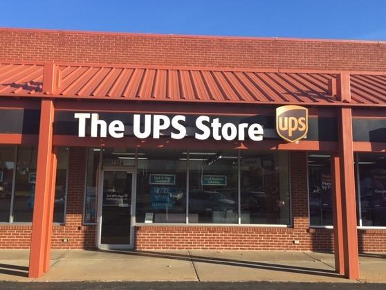 Exterior storefront image of The UPS Store #1633 in Sedalia, MO