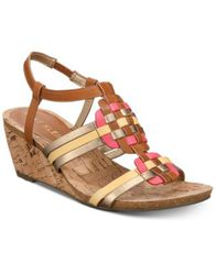 Image of Anne Klein Tilly Wedge Sandals