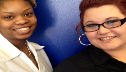 Vertrice Ingram and Alisha Keesee are our Marketers.