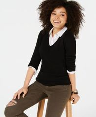 Image of Charter Club Pure Cashmere V-neck Sweater, in Regular & Petite Sizes, Created for Macy's