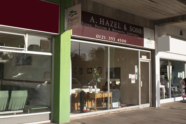 A Hazel & Sons Funeral Directors in Streetly, Sutton Coldfield