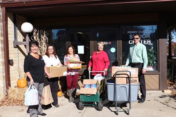 Perry County Senior Center Food Drive